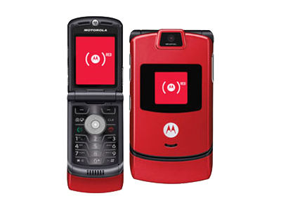 Motorola Razr V3m - fire red (U.S. Cellular)
