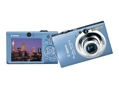 Canon PowerShot SD1100 IS (Blue)