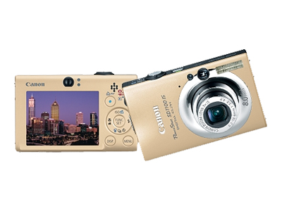 Canon PowerShot SD1100 IS (Gold)