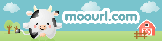 Moourl.com has the cutest URL shortening site we've seen