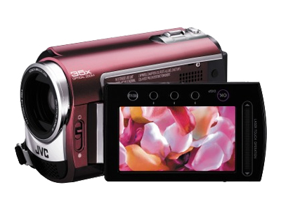 JVC Everio GZ-MG330 (30GB, Red)