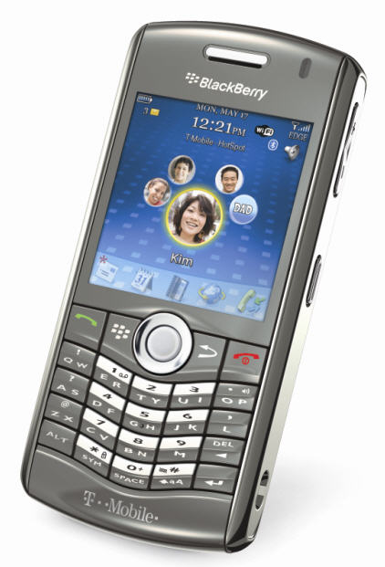 T-Mobile RIM BlackBerry Pearl 8120