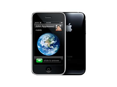 Apple iPhone 3G - 8GB, black (AT&T, 0S 3.0)