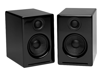 Audioengine A2B Powered Multimedia Speaker System - Black Finish