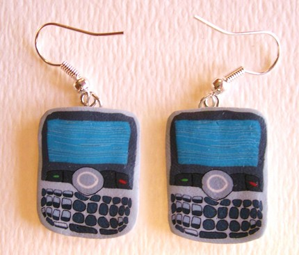 BlackBerry Bold earrings