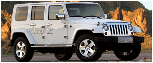 The extended-range electric Jeep Wrangler.