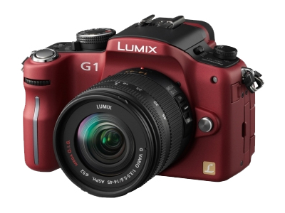 Panasonic Lumix DMC-G1 (Red)