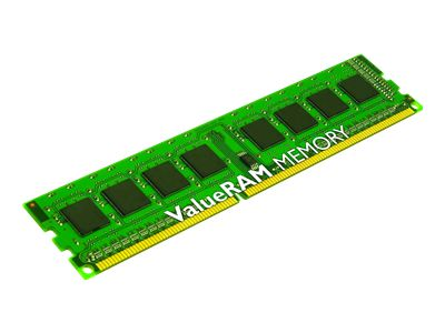 Kingston ValueRAM - DDR3 - 8 GB : 2 x 4 GB - DIMM 240-pin