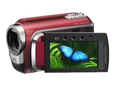 JVC Everio GZ-HD300 (red)