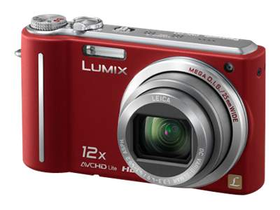 Panasonic Lumix DMC-ZS3 (red)