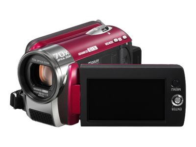 Panasonic SDR-H80 (Red)
