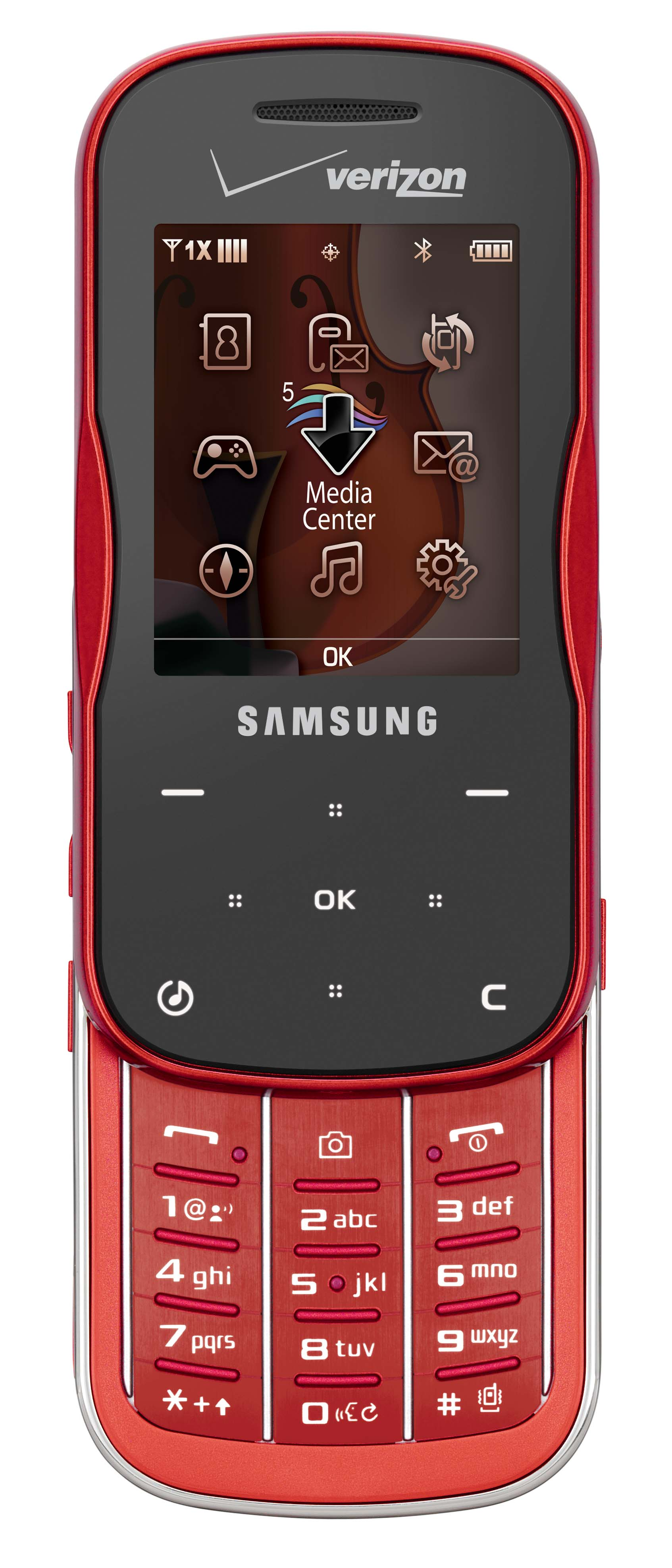 Samsung Trance in Electric Red.