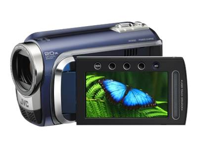 JVC Everio GZ-HD300 (blue)