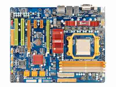 Biostar TA790GX A3+ - T-series - motherboard - ATX - Socket AM3 - AMD 790GX
