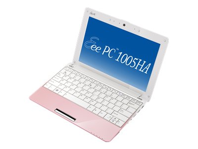 Asus Eee PC 1005HA (Intel Atom N270 1.6GHz, 1GB RAM, 160GB HDD, XP Home, pink)