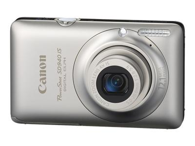 Canon PowerShot SD940 IS (Silver)