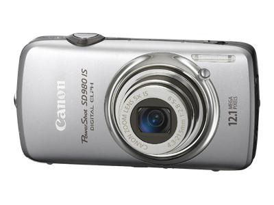 Canon PowerShot SD980 IS (Silver)