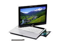 "Fujitsu LIFEBOOK T5010 - 13.3"" - Core 2 Duo P8600 - Vista Business / XP Pro downgrade - 2 GB RAM - 160 GB HDD - with port replicator"