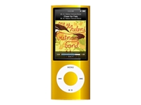 Apple iPod Nano (fifth generation, 8GB, yellow)