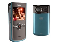 Kodak Zi8 Pocket Video Camera (Aqua)