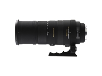 Sigma telephoto zoom lens - 150 mm - 500 mm