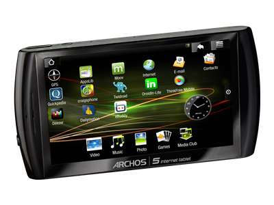 Archos 5 Internet tablet with Android (8GB)