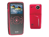 Kodak Zx1 HD Pocket Video Camera (red)