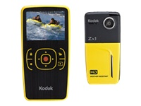 Kodak Zx1 HD Pocket Video Camera (yellow)
