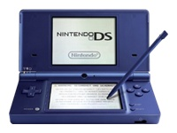 Nintendo DSi (Metallic Blue) Mario Collection