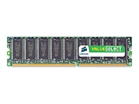 Corsair Value Select memory - 512 MB - DIMM 184-pin - DDR
