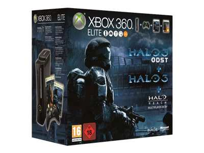 Microsoft Xbox 360 Elite (120GB) Halo 3 ODST Bundle