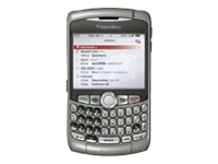 BlackBerry Curve 8310 - BlackBerry smartphone - GSM - TFT - silver