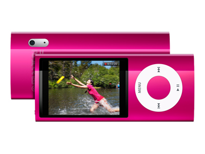 Apple iPod Nano (fifth generation, 16GB, pink)