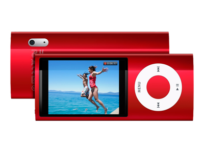 Apple iPod Nano - Product Red (fifth generation, 16GB, red)