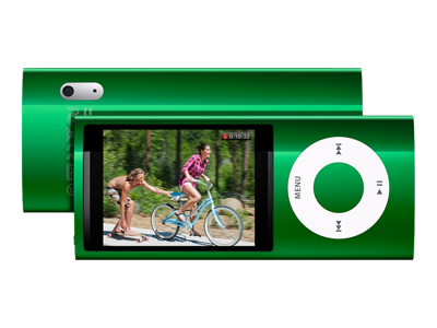 Apple iPod Nano (fifth generation, 8GB, green)