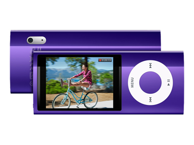 Apple iPod Nano (fifth generation, 8GB, purple)