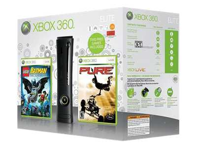 Microsoft Xbox 360 Elite (120GB) LEGO Batman & Pure Bundle