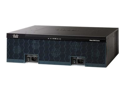 Cisco 3945E Integrated Services Router - router - desktop, rack-mountable
