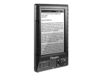 Aluratek LIBRE eBook Reader PRO w/2GB SD Card (black)