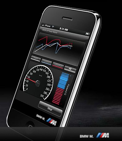 BMW M Power iPhone app