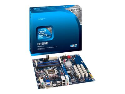 Intel Desktop Board DH55HC - motherboard - ATX - LGA1156 Socket - H55