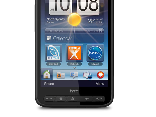 HTC HD2 Telstra