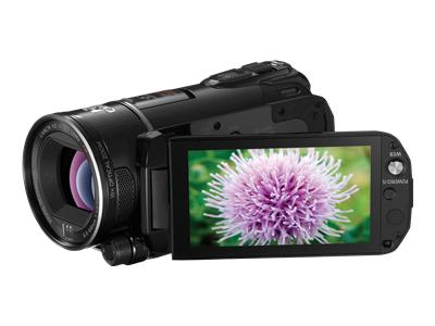 Canon VIXIA HF S200 - Camcorder - High Definition - 8.59 Mpix - 10 x optical zoom - flash card