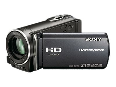 Sony Handycam HDR-CX150 (Black)