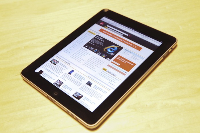 iPad as an e-reader