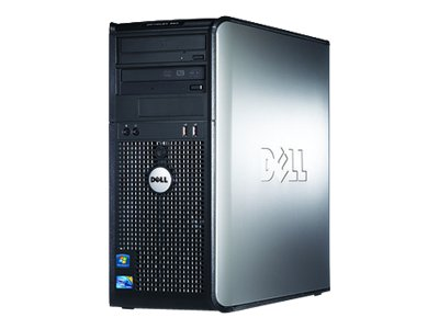 Dell OptiPlex 380 - MT - 1 x Core 2 Duo E7500 / 2.93 GHz - RAM 4 GB - HDD 1 x 250 GB - DVD-Writer - GMA X4500 - Gigabit LAN - Windows 7 Professional - Monitor : none.