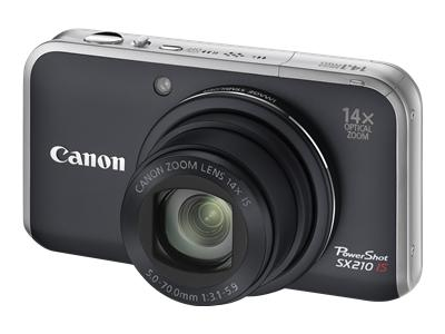 Canon PowerShot SX210 IS (Black)