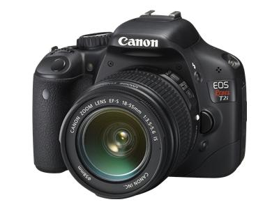 Canon EOS Rebel T2i (with 18-55mm and 55-250mm lenses)