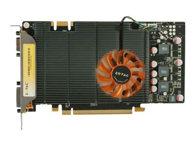 ZOTAC GeForce 9800 GT graphics card - GF 9800 GT - 512 MB