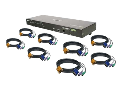 IOGEAR GCS1808KITP - KVM switch - 8 ports - desktop
